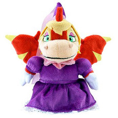 Neopets Collector Limited Edition Plush with Keyquest Code Royal Girl Scorchio