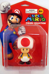 Nintendo Super Mario 5 Inch Toad Vinly Figure