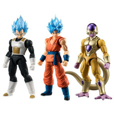 Shodo Tenohirado Dragon Ball Z Set of 3 Action Figure
