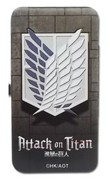 Attack on Titan Scout Regiment Anime Cosplay Hinge Wallet