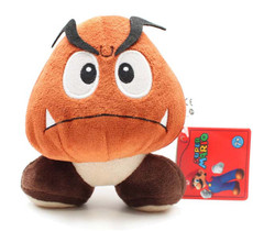 Nintendo Super Mario Brothers Goomba Doll Plush