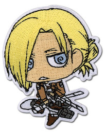 Attack on Titan SD Annie Iron on Patch