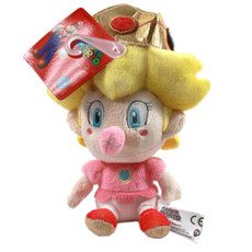 Nintendo Super Mario Brothers Baby Peach Doll Plush