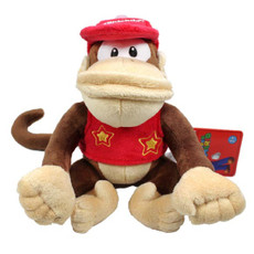 Nintendo Super Mario Brothers: Diddy Kong Doll Plush