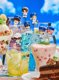 Ace of Diamond: Ocha-Tomo Exercise on the Cup! Trading Figures (Display of 8)