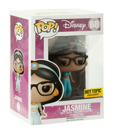Disney: Jasmine (GLASSES) Funko POP Vinyl Figure Hot Topic Exclusive