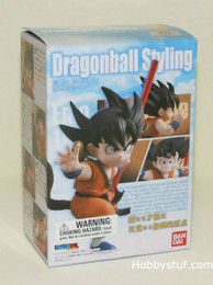 Dragon Ball Z Styling Son Goku Mini Action Figure
