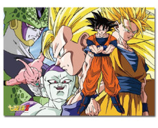 Dragon Ball Z: Goku Vs. Villains Puzzle (520pc)
