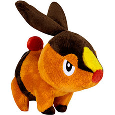 Pokemon Black & White Tepig Doll Plush