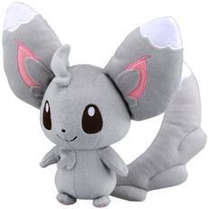 Pokemon Black & White Minccino Chillarmy Doll Plush