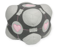 Portal Valve Weighted Companion Cube Plush