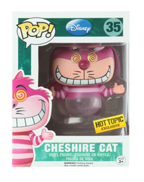 Disney Cheshire Cat Funko POP Vinyl Figure Hot Topic Exclusive