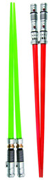 Star Wars: Darth Maul and Luke Skywalker Lightsaber Chopsticks Set