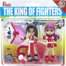 The King of Fighters Mai Shiranui x Athena Asamiya Action Figure