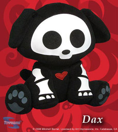 Skelanimals Series 1 Dax The Dog Doll Plush