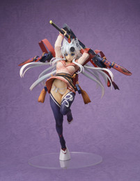 Samurai Girls: Yagyu Jubei Silver Sword Princess Ver. 1/8 Scale Figure