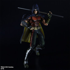 Batman Arkham City: Robin Play Arts Kai Action Figure