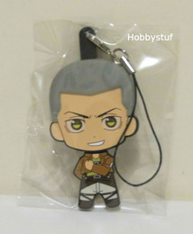 Attack on Titan Part 2 Rubber Straps Picktami! Changeable Face Connie Springer