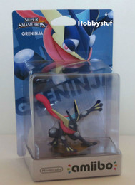 Super Smash Bros Series: Greninja amiibo Figure (US Edition)