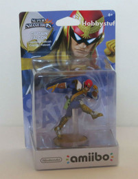 Super Smash Bros Series: Captain Falcon amiibo Figure (USA Edition)