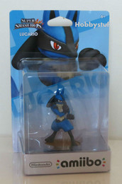 Super Smash Bros Series: Lucario amiibo Figure (USA Edition)
