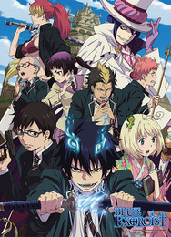 Blue Exorcist: Rue Cross Academy Fabric Poster (Wall Art)