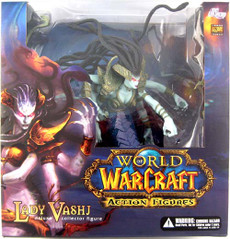 World of Warcraft: Lady Vashij Naga Deluxe Figure