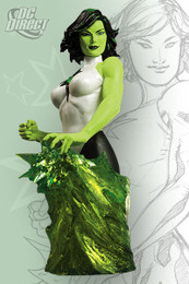 Women of The DC Universe Series 2: Jade Bust