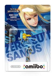 Super Smash Bros Series: Zero Suit Samus amiibo Figure (USA Edition)