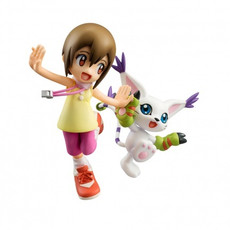Digimon Adventure: Hikari (Kari) & Gatomon (Tailmon) G.E.M. 1/10 Scale Figure