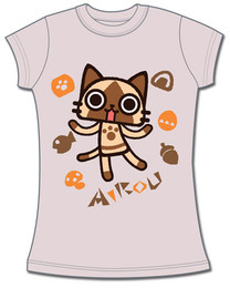 Airou From The Monster Hunter: Airou JRS T-Shirt