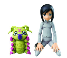 Digimon Adventure: Ken & Wormmon G.E.M. 1/10 Scale Figure