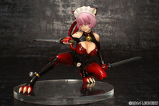 Fairy Tale Figure Villains: Cheshire Cat Assassin HEART RED Maid 1/7 Scale Figure