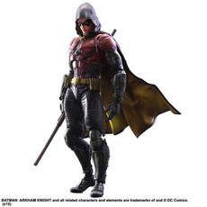 Batman Arkham Knight Robin Play Arts Kai Action Figure