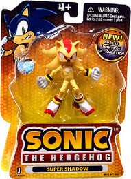 Sonic The Hedgehog: Super Shadow 3.5 Inch Tall Figure
