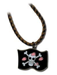 One Piece Chopper's Flag Necklace