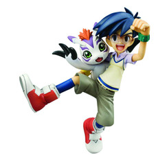 Digimon Adventure: Joe & Gomamon G.E.M. 1/10 Scale Figure