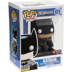 DC Universe Heroes Batman (Blk/Gray) Funko POP Vinyl Figure (Preview Exclusive)