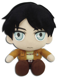 Attack on Titan: Eren Sitting Pose Stuffed Plush