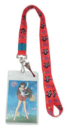 Sailor Moon R: Sailor Mars Lanyard ID Holder with Charm