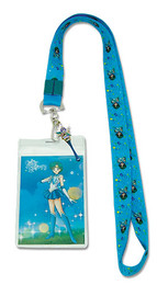 Sailor Moon R: Sailor Mercury Lanyard ID Holder with Charm