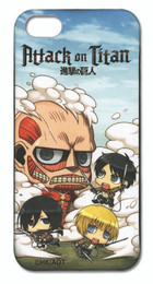 Attack on Titan SD Fight iPhone 5 Case