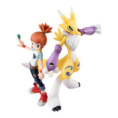 Digimon Tamers Lenamon & Ruki GEM PVC Figure