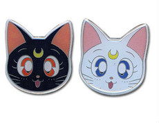 Sailor Moon Luna & Artemis (Set of 2) Pins
