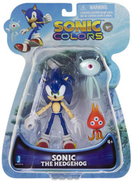 Sonic The Hedgehog: Sonic Colors & 2 Wisp Action Figure