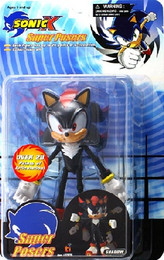 Sonic X: Super Posers Sonic Shadow 5 inch Tall Action Figure