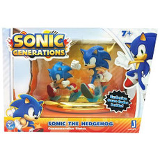 Sonic Generations: Classic and Modern Commemorative Statue