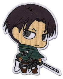 Attack on Titan: SD Levi Iron on Patch