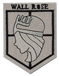 Attack on Titan: Wall Rose Iron on Patch