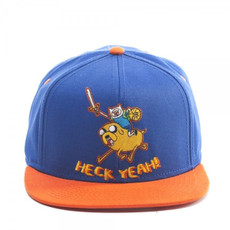 Adventure Time: Heck Yeah Snapback Blue Cap